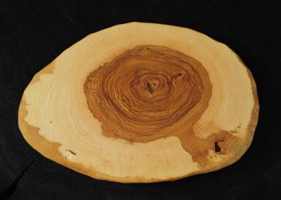 Schneid und Servierbrett - Olivesche Hirnholz