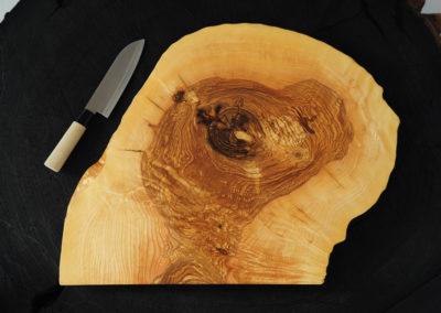 Schneid- und Servierplatte - Olivesche Hirnholz